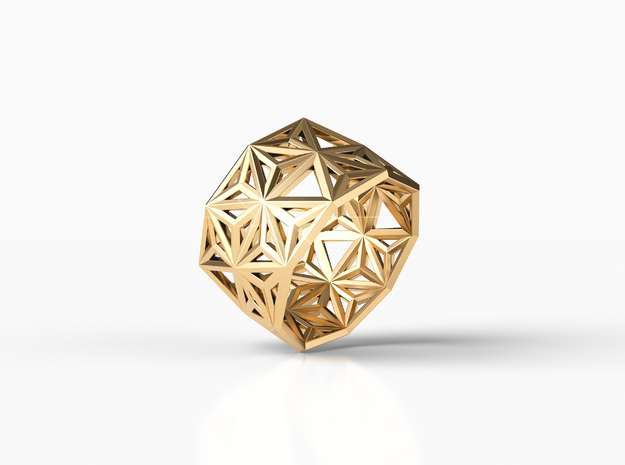 ARRAY RING in Natural Brass: 8 / 56.75