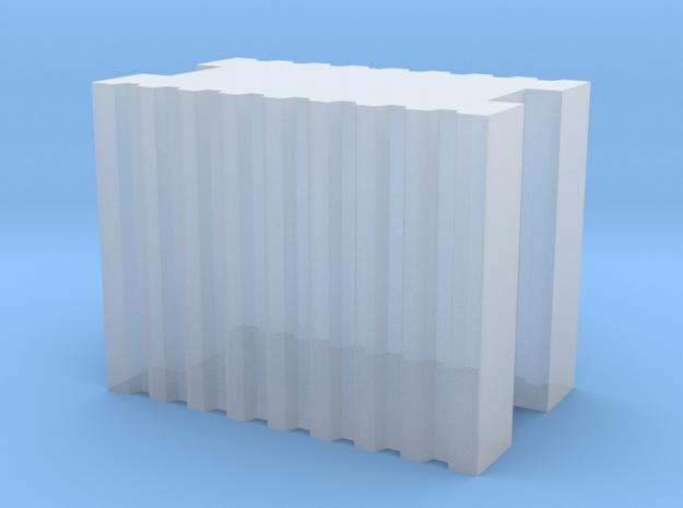 Brick 5.9x3.5x4.5mm in Smooth Fine Detail Plastic