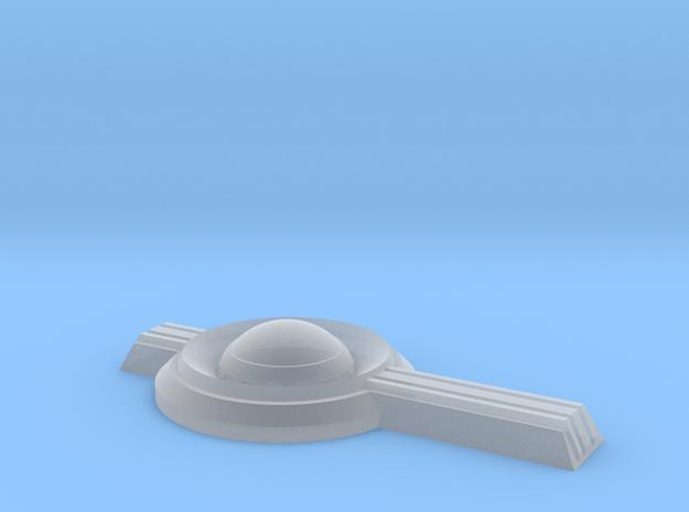 1/1000 Impulse Crystal Design v2 in Smooth Fine Detail Plastic