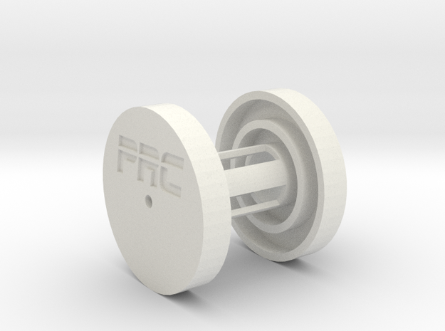 PRC 1/8 Air Filter Housing in White Strong & Flexible