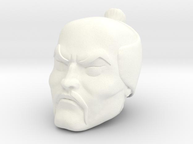 Chopper Head in White Processed Versatile Plastic