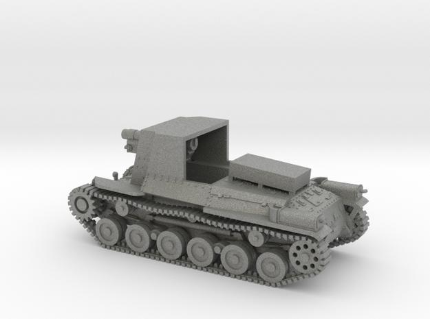 1/100 IJA Type 4 Ho-Ro Self Propelled Gun in Gray PA12