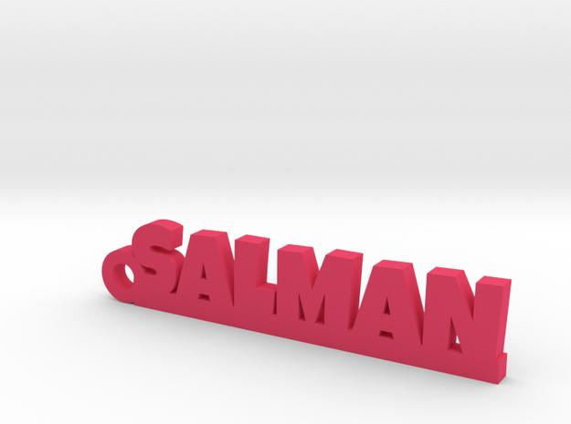 SALMAN_keychain_Lucky in Pink Processed Versatile Plastic