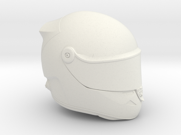 Full Face Helmet for Axial Interiors VAR.2 in White Natural Versatile Plastic