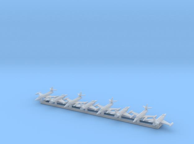 XF-90 w/Gear x8 (CW) in Smooth Fine Detail Plastic: 1:700
