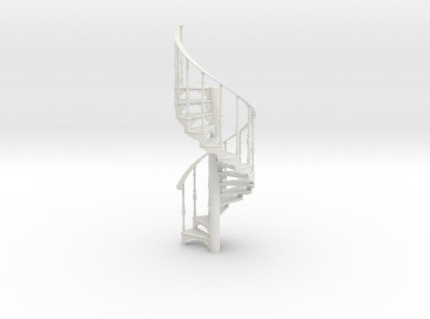S-24-spiral-stairs-market-1b in White Natural Versatile Plastic