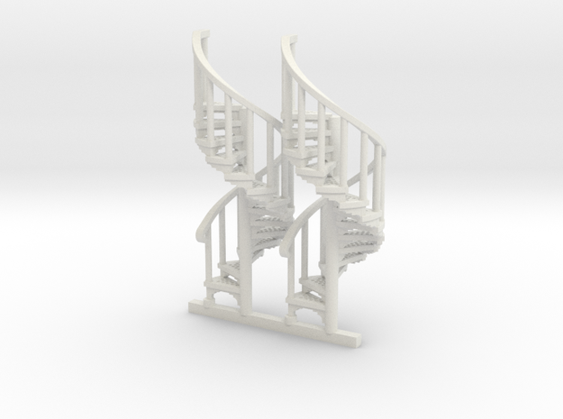 S-76-spiral-stairs-market-1a in White Natural Versatile Plastic
