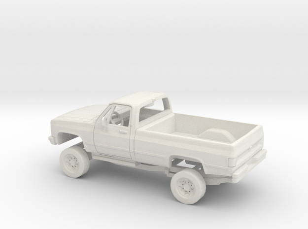 1/32 1981 Chevrolet C10 Scotsdale Kit in White Natural Versatile Plastic