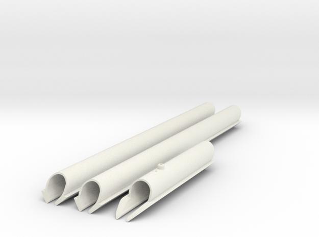 Santana 2023, slot= 21 inch in White Natural Versatile Plastic