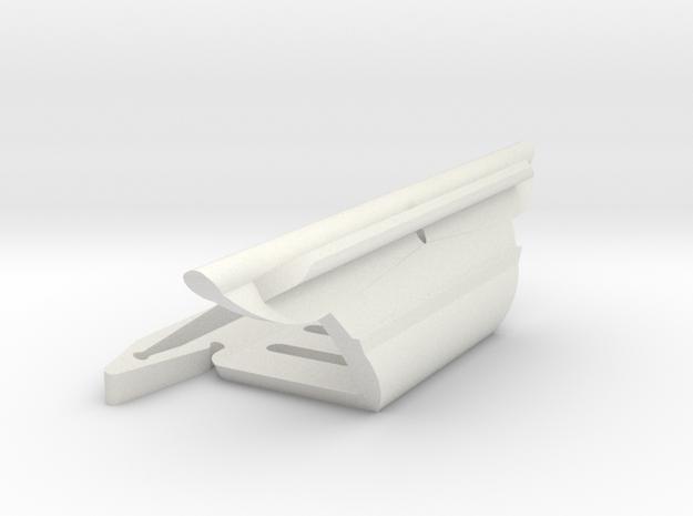 Montgomery 17, Dwyer DM6 mast in White Natural Versatile Plastic
