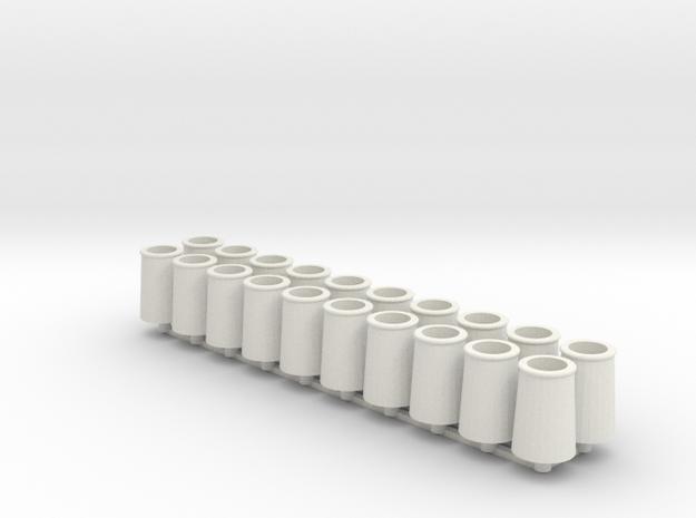 chimney duchess group in White Natural Versatile Plastic