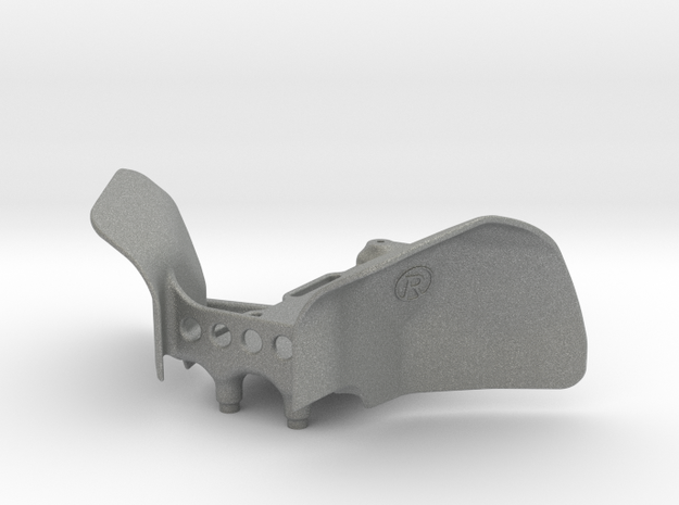 Yeti Jr Can-Am Inner Fenders w/ Front Battery Tray in Gray PA12