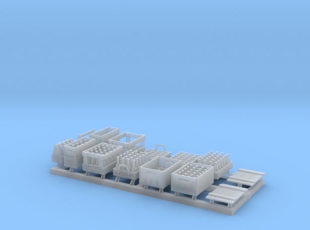 Miscaellaneous Crates 1/48 scale in Smooth Fine Detail Plastic