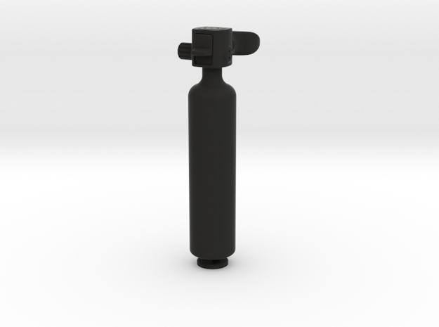 1/6 Scale Scuba Spare Air/Backup Air pony bottle 3d printed