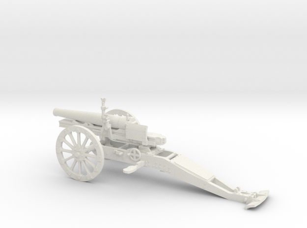 1/32 Cannone da 65/17 65mm Mountain Gun in White Natural Versatile Plastic