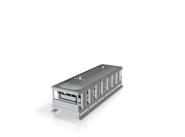 1001-0 Toast Rack Wagon 1:148 3d printed