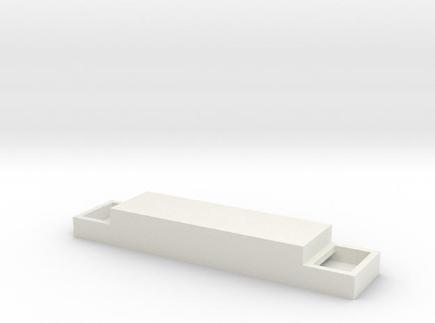 Bowser C628,630,636 Enclosure HO in White Natural Versatile Plastic