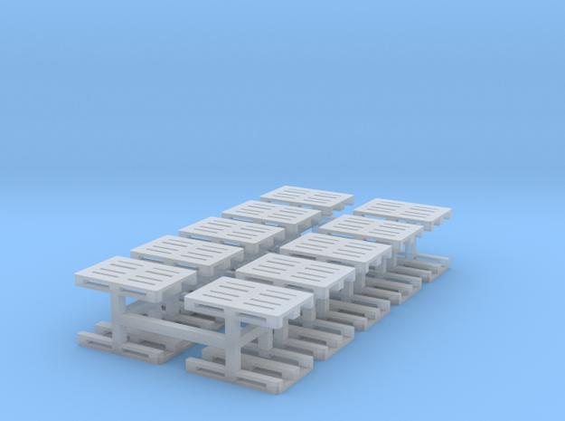 Europaletten 20er Set - TT 1:120 in Smooth Fine Detail Plastic