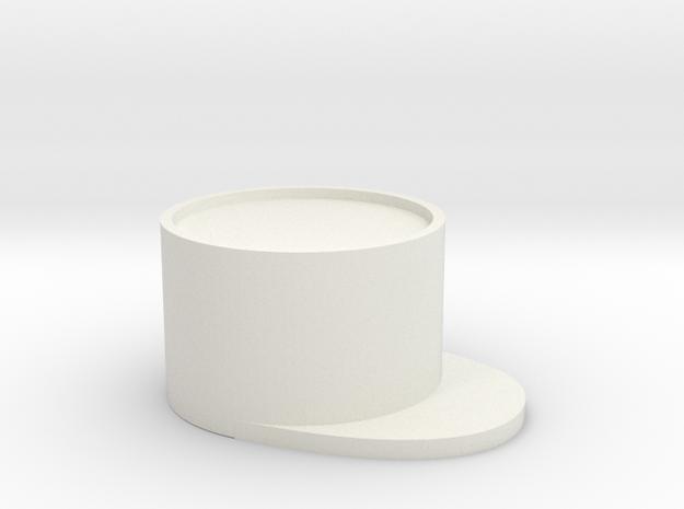34tsiinnr5kk7hiqefc0t2pjr1 45513568.stl in White Natural Versatile Plastic