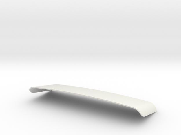 GMC Astro 95 Windshield in White Natural Versatile Plastic