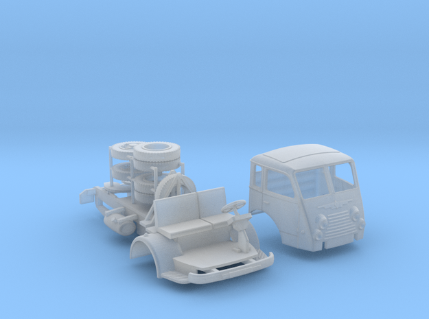 Renault R4140 / Saviem Tancarville semi - Ho 1:87