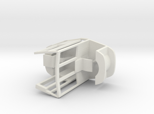UF Fahrerstand Paar 1 in White Natural Versatile Plastic