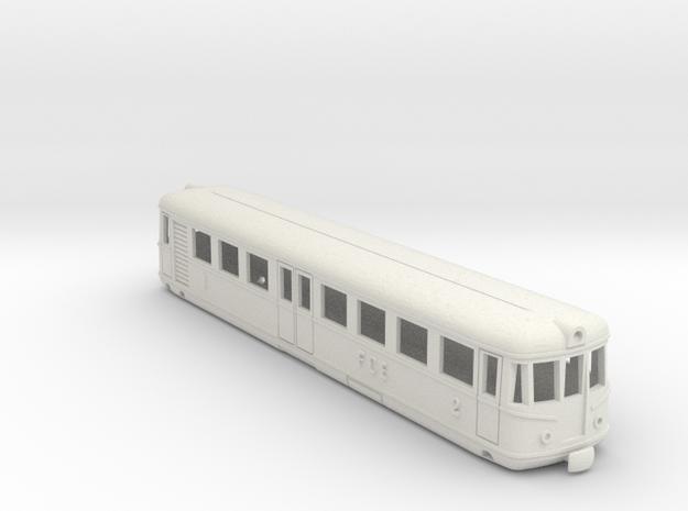 Aln541-542 in H0 in White Natural Versatile Plastic