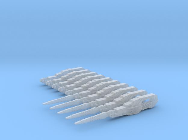 Lightning Blasters - Custom Order in Smoothest Fine Detail Plastic