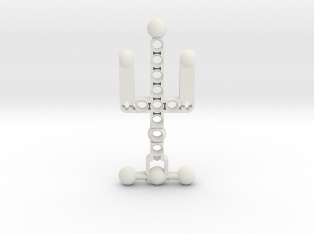 Forklifted Body in White Natural Versatile Plastic