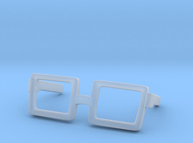 Glasses for Velma V1 and V2 in Smooth Fine Detail Plastic: Medium