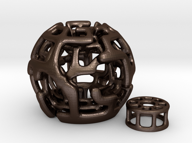 Magic Sphere Tealight Holder 3d printed