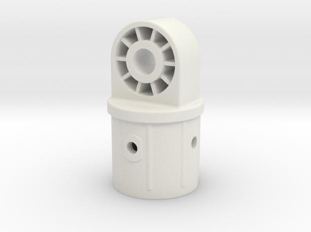 ikea UMBRELLA STAND elbow in White Natural Versatile Plastic