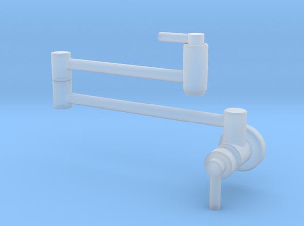 Pot Filler: Sleek Modern (Stationary) in Smooth Fine Detail Plastic
