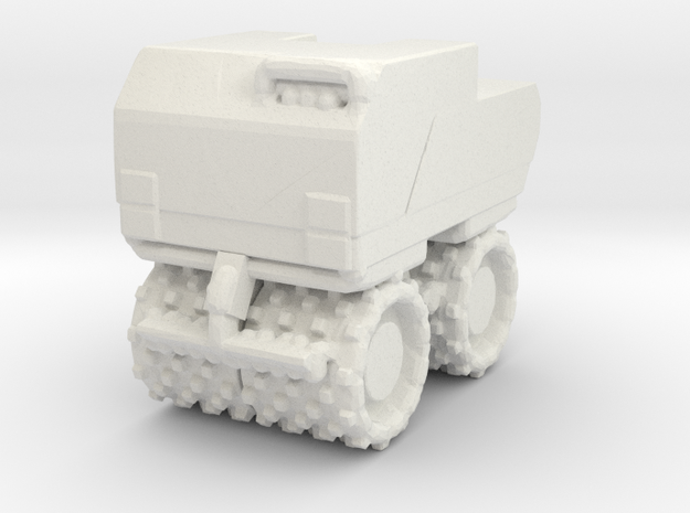 Trench Compactor 1/76 in White Natural Versatile Plastic