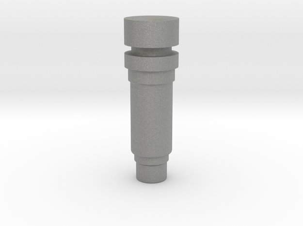 Modular nozzle +1mm in Gray PA12