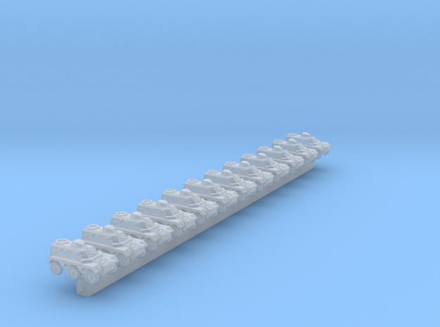 Alvis Saracen x12 (CW) in Smooth Fine Detail Plastic: 1:700