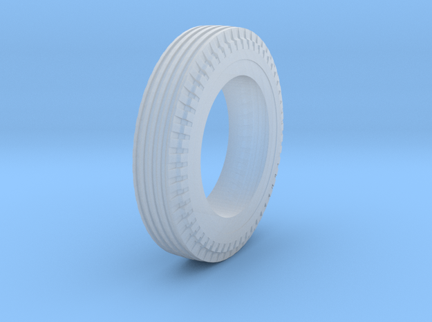 DIRT TRACK TIRE - FRONT REV 1 07-14-2020 in Smoothest Fine Detail Plastic