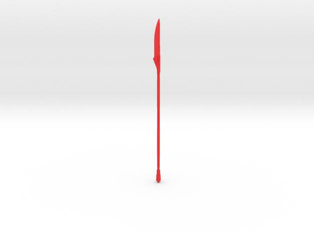PRHI Star Wars Black Vibro-Voulge in Red Processed Versatile Plastic