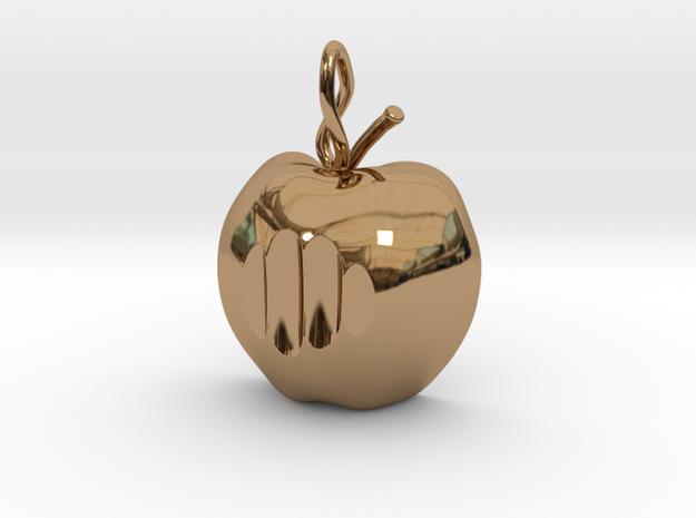 Mela pendant 3d printed