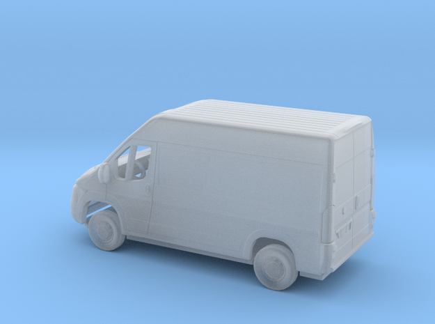 1/160 2013-Present Dodge Ram ProMaster 2500 Cargo  in Smooth Fine Detail Plastic