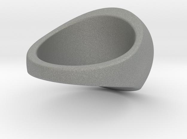 Custom Signet Ring 96 in Gray PA12
