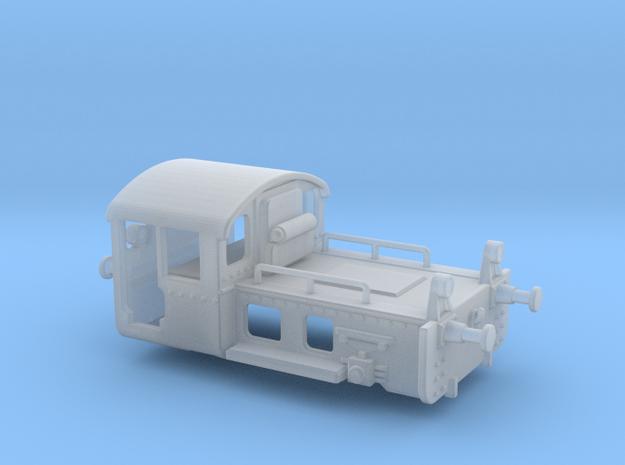 1:120 Köf Benzol DRG in Smooth Fine Detail Plastic