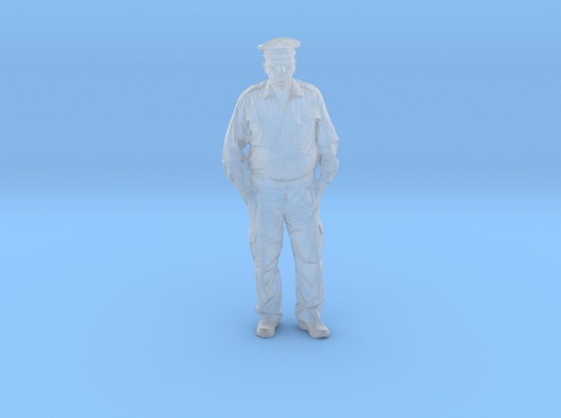 police officer in Smooth Fine Detail Plastic: 1:75