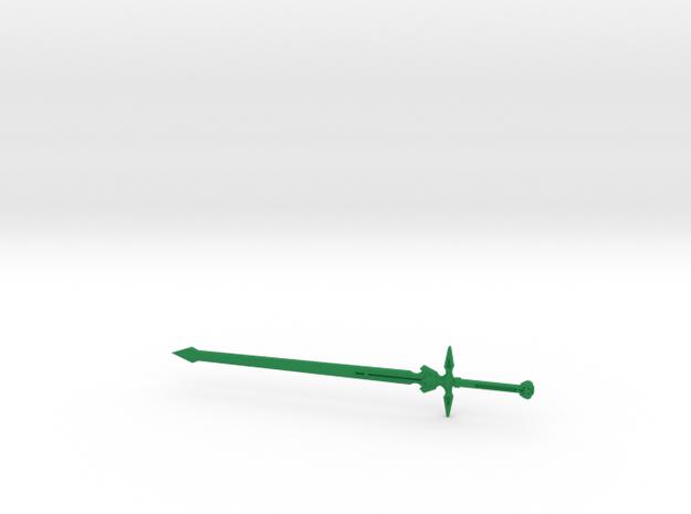 Dark Repulser in Green Processed Versatile Plastic