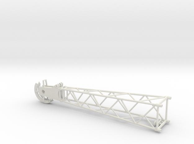 Liebherr HS881/882/883/885 dragline boom head in White Natural Versatile Plastic