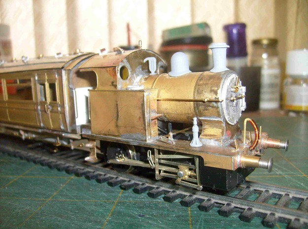 12 L&Y Locomotive Jacks 4mm scale in Frosted Ultra Detail