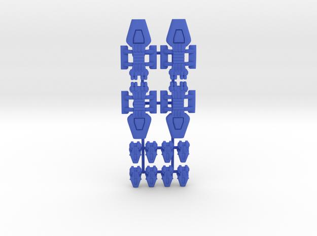 Lambda Generic Fleet 2 in Blue Processed Versatile Plastic