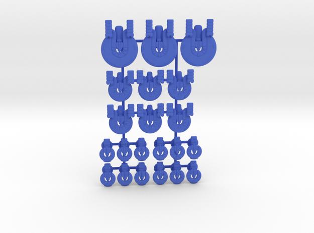 Gamma Generic Fleet 1 in Blue Processed Versatile Plastic