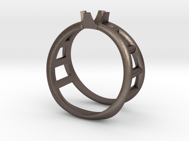 Custom Bottle Opener Ring 3d printed