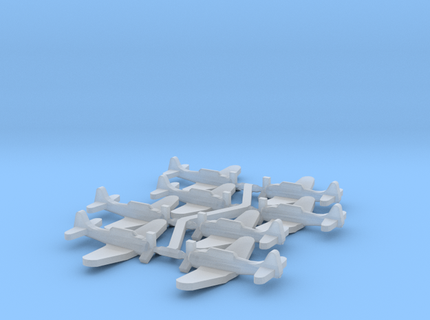 US SBD Dauntless Dive Bomber in Smooth Fine Detail Plastic: Small
